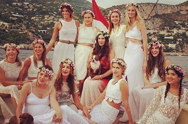 La Boho-Bachelorette party de tatiana santo domingo