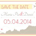 Cuándo debo entregar las invitaciones y Save the Date?