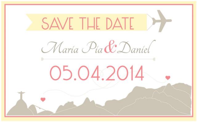 cuándo debo mandar los save the dates y las invitaciones de mi matrimonio?