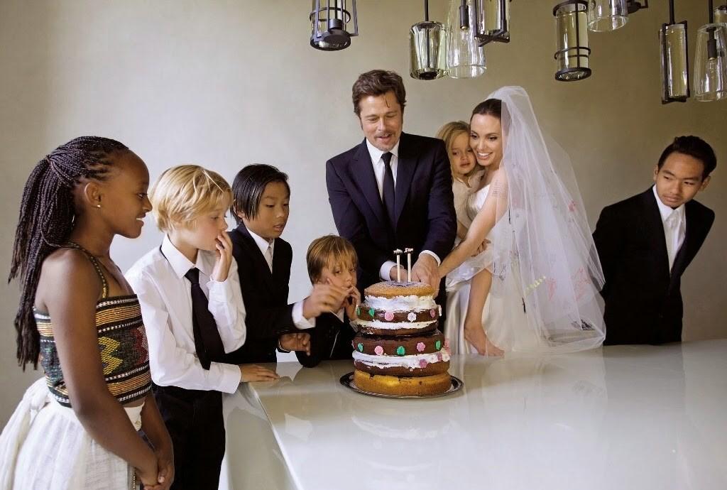 la simpleza de la boda de los famosos