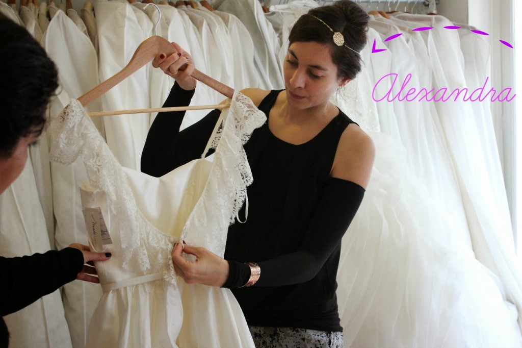 vestidos de novia usados en París