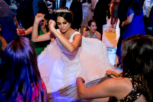 Vestido de novia de María Pía Moreno