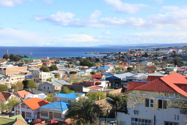Parada en Punta Arenas antes de ir a Torres del Paine