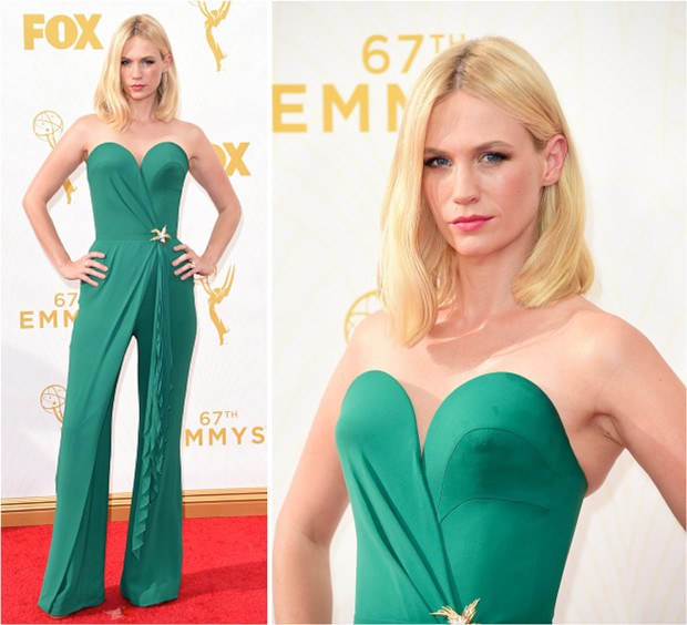 January Jones - Emmys 2015