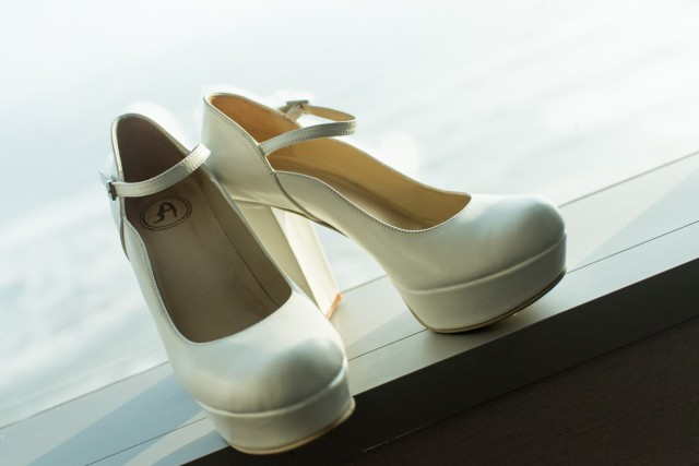Zapatos de novia Almudena Miliani - Matrimonio Roma y Guti