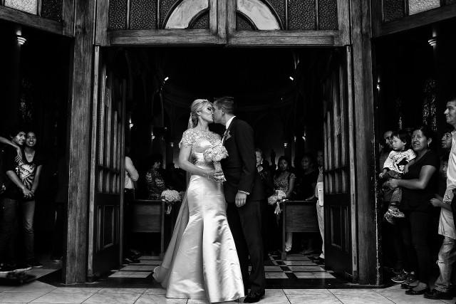 Parroquia Virgen Milagrosa Miraflores - Matrimonio Kristyn y Alvaro