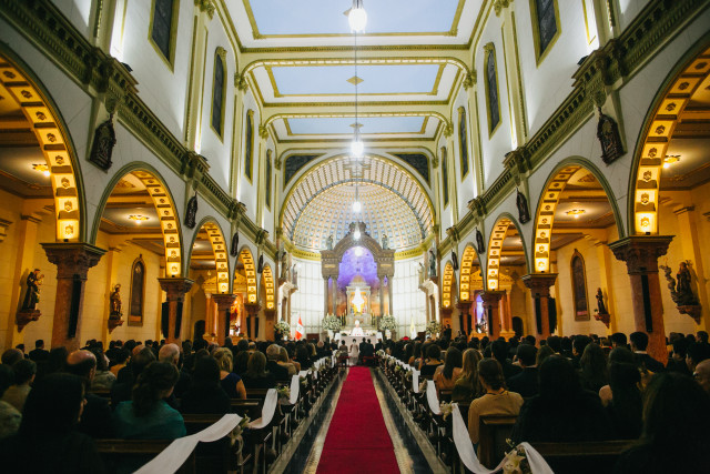Matrimonio-majo-y-chan-tahuano-foto-36 - Iglesia San Francisco de Asis - Lima Perú