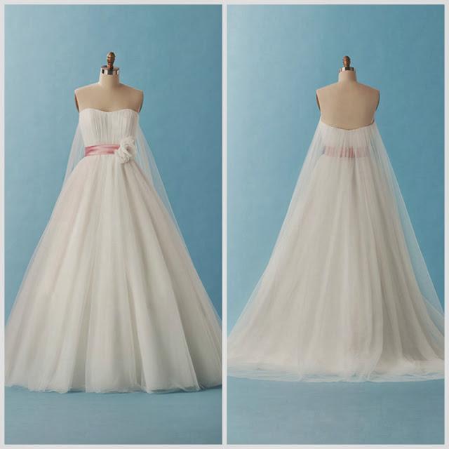 Vestidos de novia Disney - blancanieves