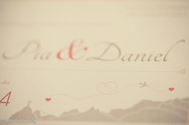 save the date e invitaciones - Matrimonio Pía y Daniel