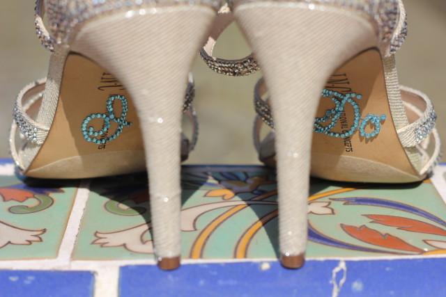 """Detalle """"I do"""" en los zapatos"""
