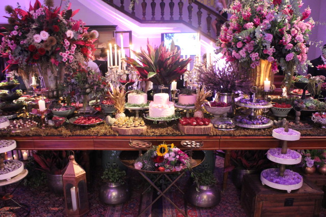 Mesa de dulces boho chic - Once Upon a Wedding