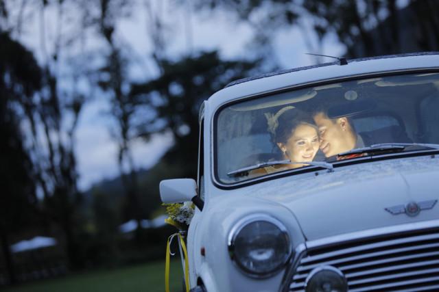 Carro vintage para bodas