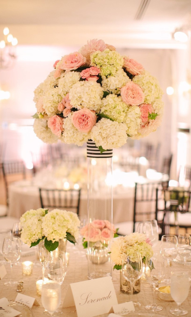 rosa cuarzo para decoración de matrimonios