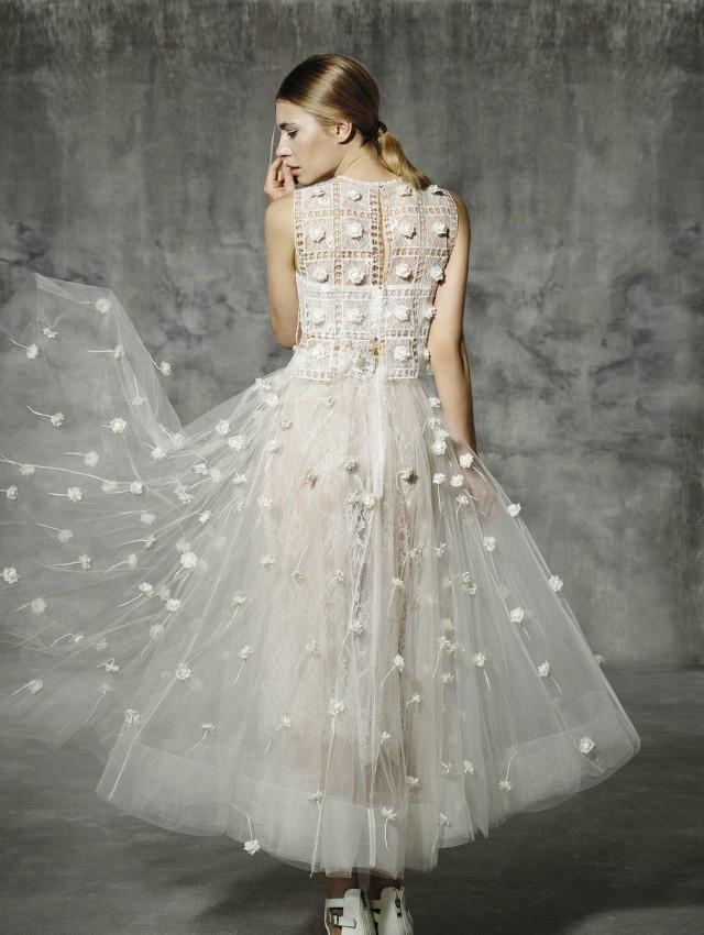 Vestidos novia midi